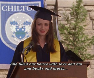 beauty, gilmore girls, and rory image