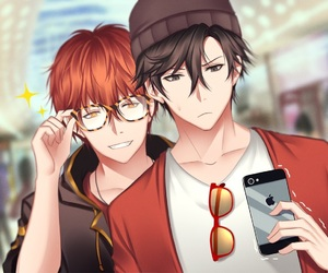707, mystic messenger, and luciel image