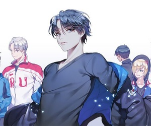 yuri on ice and lee seung gil image
