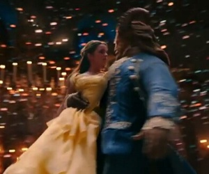 beast, belle, and dan stevens image