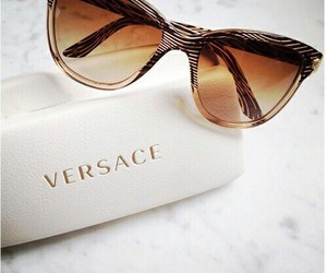 glasses, luxury, and Versace image