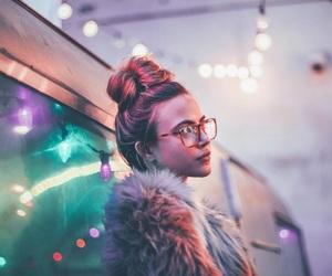 light, girl, and alternative image