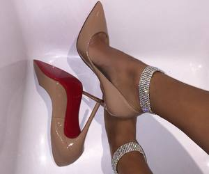 louboutins, shoes, and 6ixbaddies image