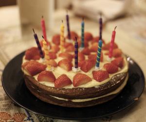 birthday, cake, and vintage image