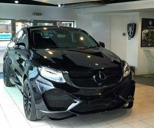 big, black, and car image