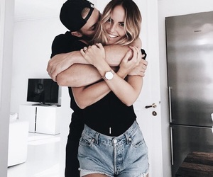 arms, caps, and girlfriend image