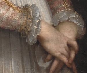 art, hands, and woman image