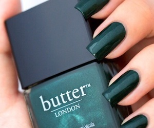 green, nails, and butter image