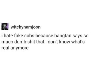 shit, true, and bts image