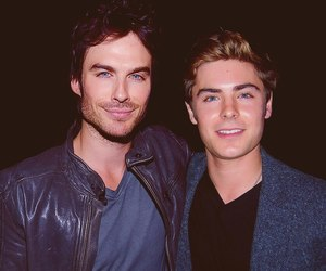 zac efron, ian somerhalder, and Hot image