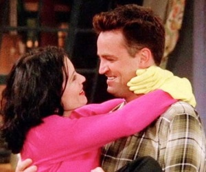 friends, love, and chandler bing image