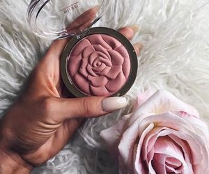 beautiful, pink, and blush image