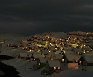 winter, city, and landscape image
