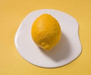 yellow, egg, and lemon image