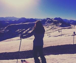 austria, ski, and snow image