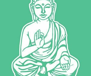 pink, quotes, and Buddha image