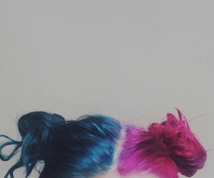 aesthetic, alternative, and colorful hair image