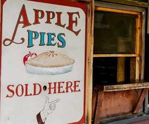 apple, Apple Pie, and vintage image