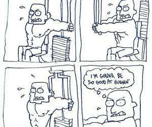 funny, lol, and gym image