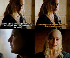 daenerys targaryen, game of thrones, and khaleesi image