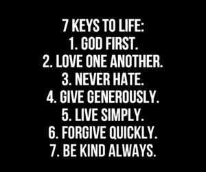 god, love, and life image