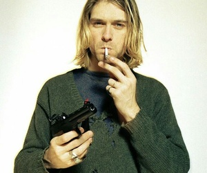kurt, nirvana, and kurt cobain image