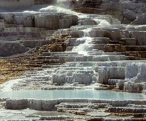 yellowstone national park, travel, and wyoming image