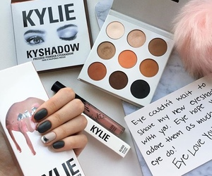 make up, laura lopes, and kylie jenner makeup image