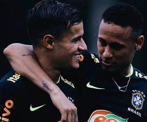 neymar, neymar jr, and phillipe coutinho image