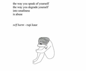 quotes, poem, and sad image