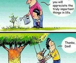 dad, quotes, and life image