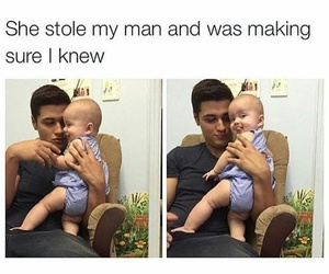 funny, baby, and cute image