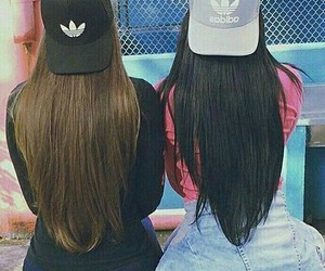 adidas, beauty, and friends image