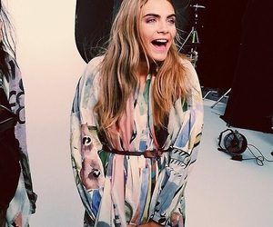 cara delevingne, model, and smile image