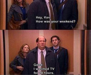 funny, tv, and the office image