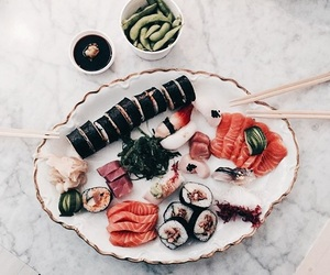 food, sushi, and tumblr image
