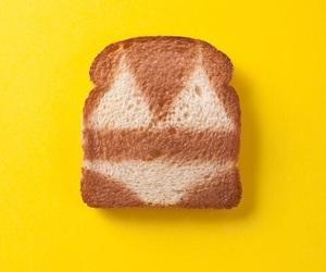 bikini, toast, and bread image