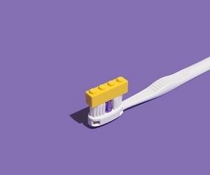 lego, toothbrush, and minimalism image