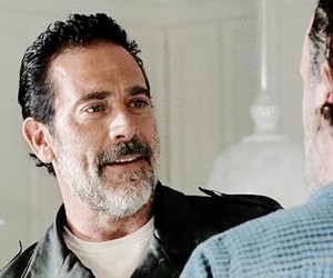 the walking dead and negan image