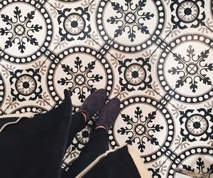 boots, carrelage, and design image