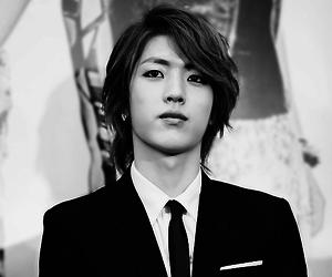 asian boy, korean, and music image