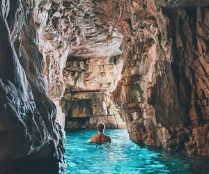 travel, water, and summer image