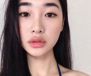 korean, ulzzang, and girl image