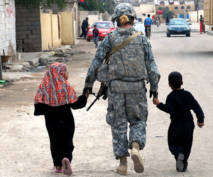 army, beautiful, and children image