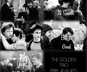 black and white, family, and harry potter image