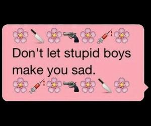 boy, sad, and stupid image