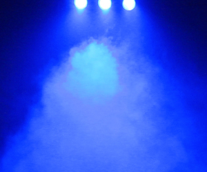 blue, electric blue, and lights image