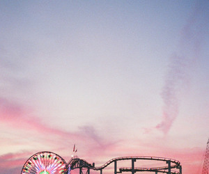 sky, fun, and pink image