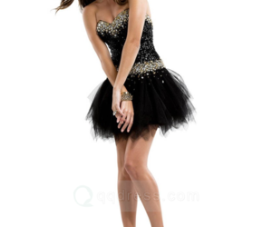 cocktail dress, little black dress, and sequin mini dress image