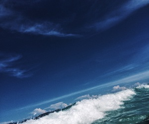 beach, blue, and cool image